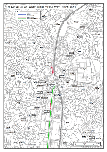 戸塚駅周辺地図PDFへのリンク