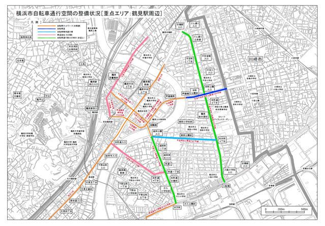 鶴見駅周辺地図PDFへのリンク
